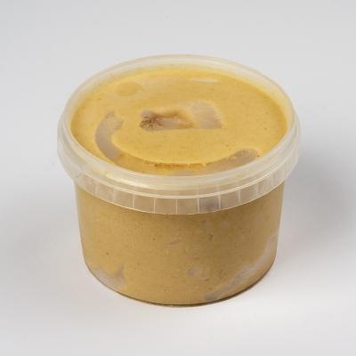 caramel-zeezout ijs, glutenvrij