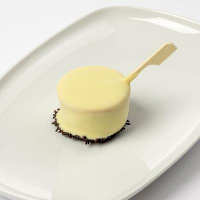 ijslolly framboos met witte chocolade