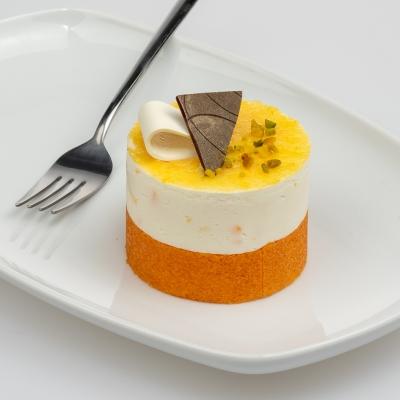 bavarois dessert kwark met mandarijn