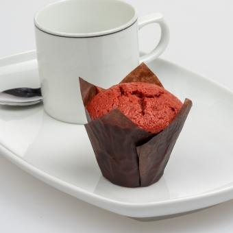 mini-muffin red velvet
